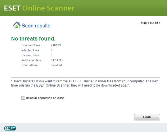 ESET Online Scanner latest version