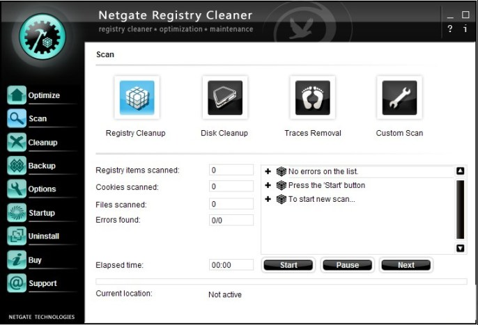 NETGATE Registry Cleaner latest version