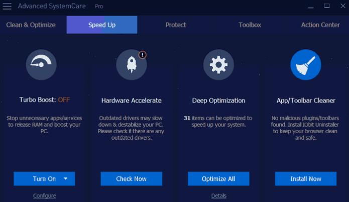Advanced SystemCare Pro latest version