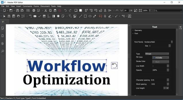 Master PDF Editor windows