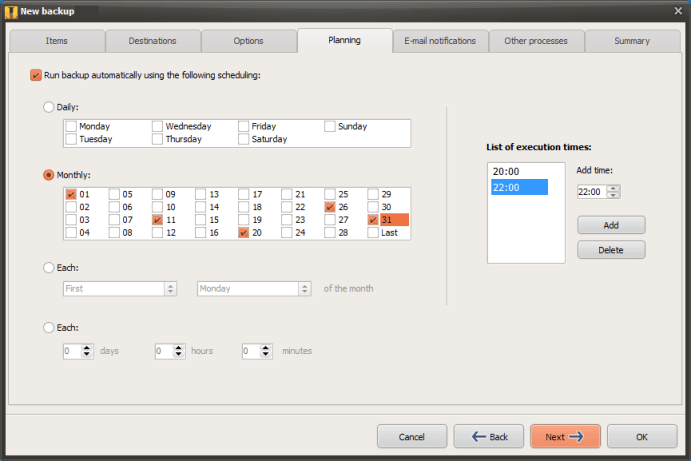 Iperius Backup latest version
