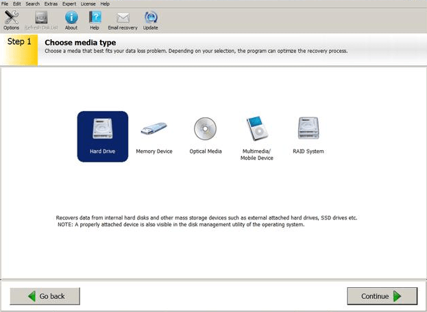Ontrack EasyRecovery Professional windows