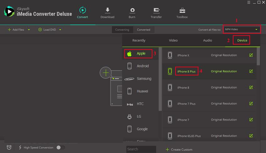 iSkysoft iMedia Converter Deluxe latest version
