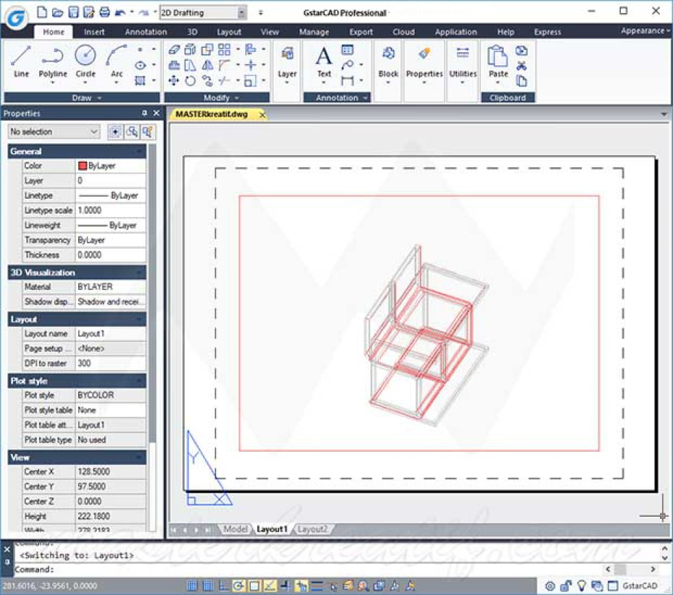 GstarCAD Professional windows