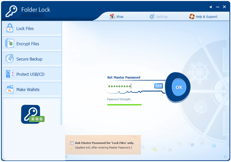 Folder Lock windows