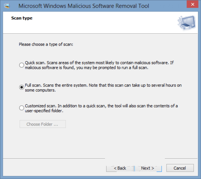 Microsoft Malicious Software Removal Tool latest version