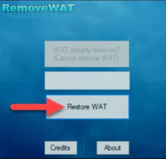 RemoveWAT latest version