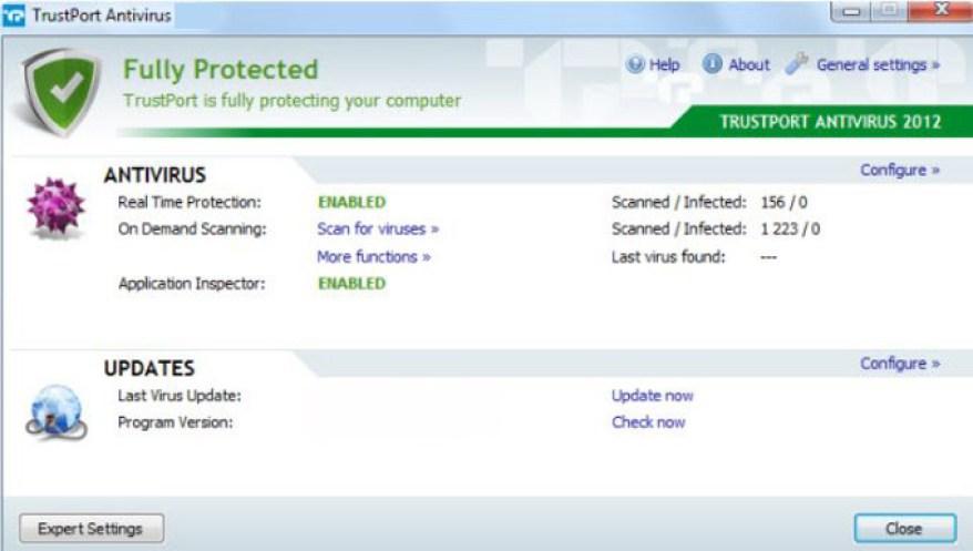 TrustPort Antivirus latest version