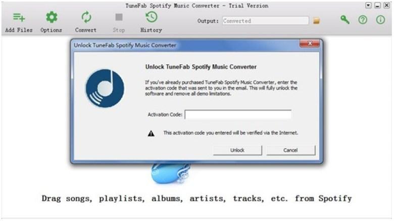 TuneFab Spotify Music Converter windows