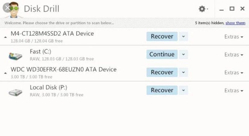 Disk Drill Pro windows
