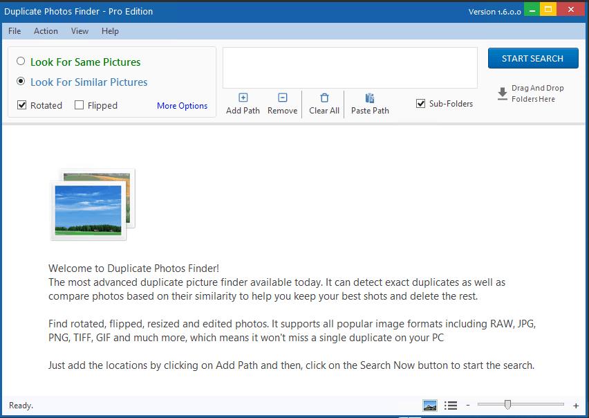 Duplicate Photo Finder Pro windows