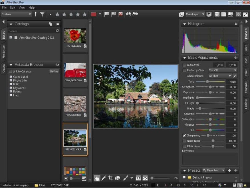 Corel AfterShot Pro latest version