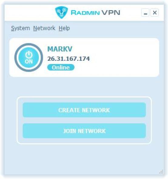 Radmin VPN windows