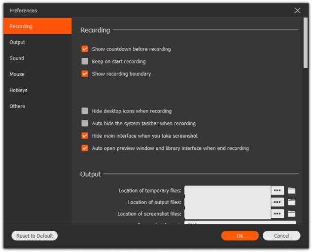 Apeaksoft Screen Recorder latest version