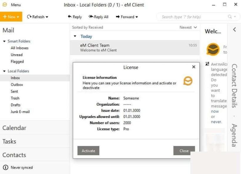 eM Client Pro latest version