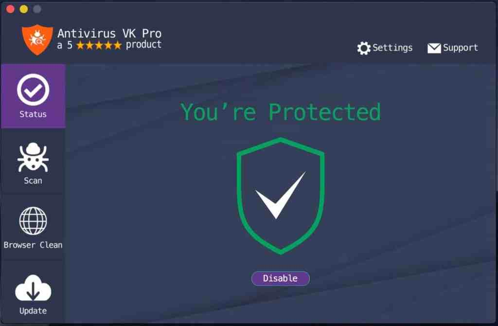 Antivirus VK Pro windows