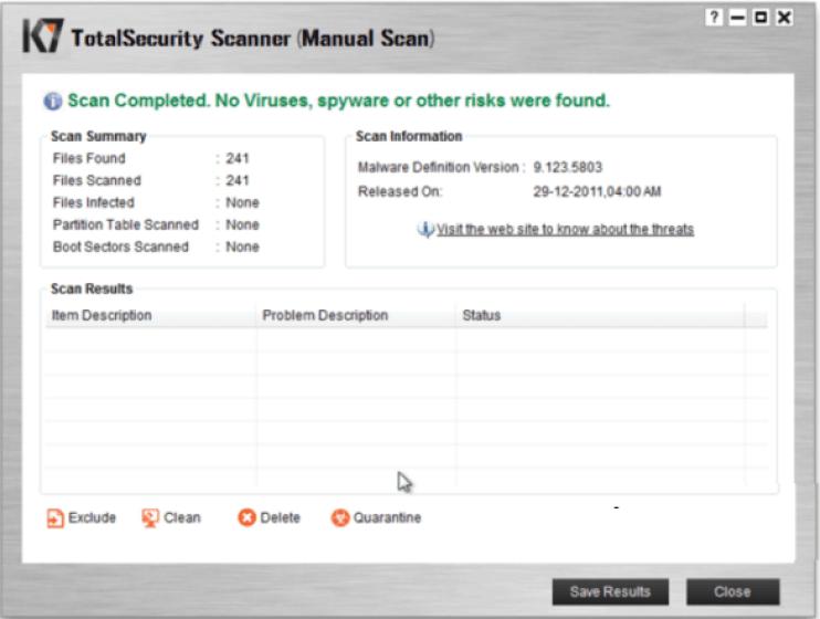 K7 TotalSecurity latest version