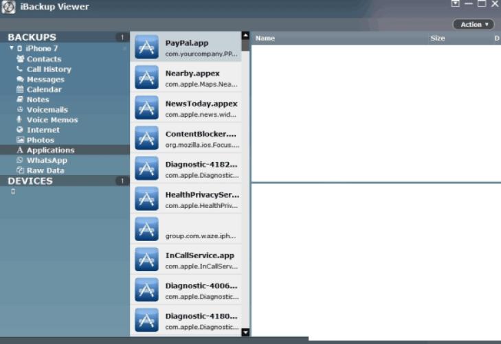 iBackup Viewer latest version