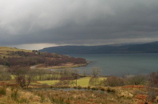Image of Sound of Mull. Water and coastline