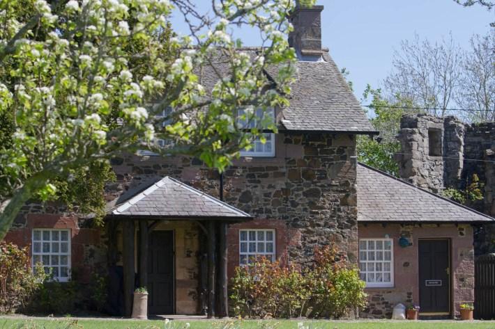 Elcho Castle cottage, Perthshire