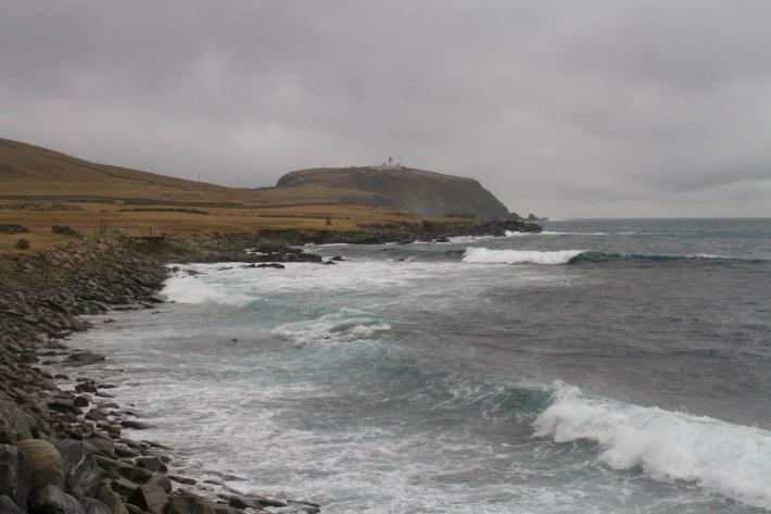 Sumburgh Head and the sea, Shetland