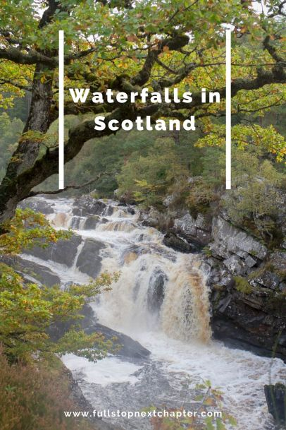 Pin for later. Waterfalls in Scotland