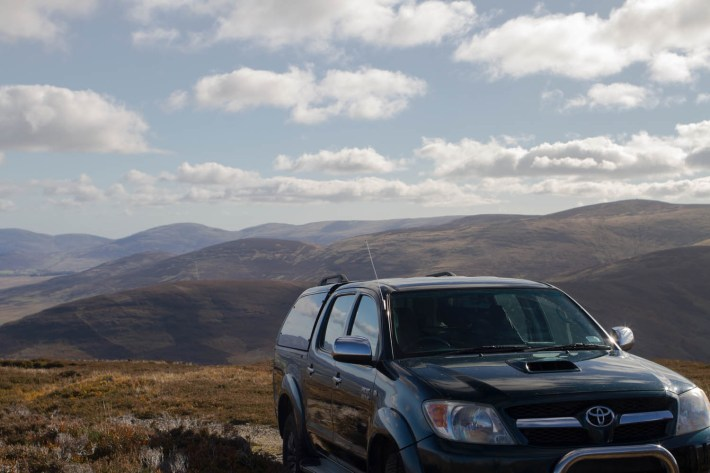 Glenesk Wildlife tour, 4x4 off road vehicle