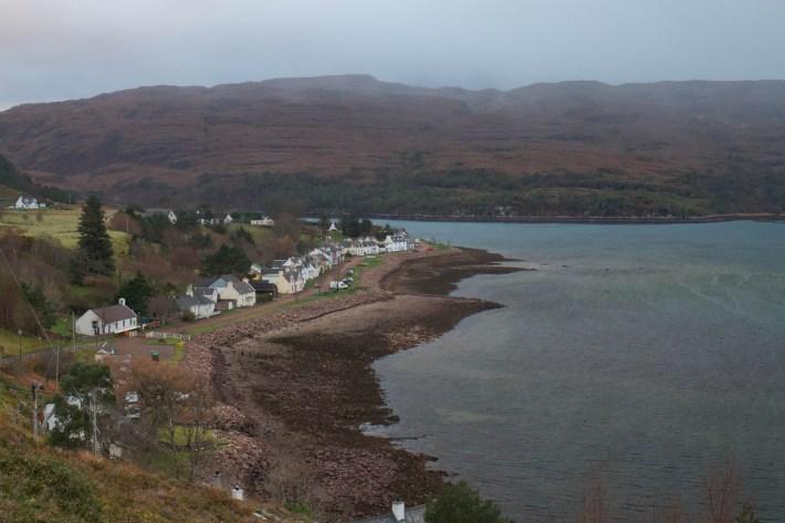 Shieldaig village, Scotland. North Coast 500