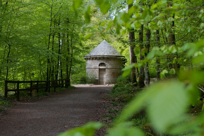 Ossian's Folly at the Hermitage