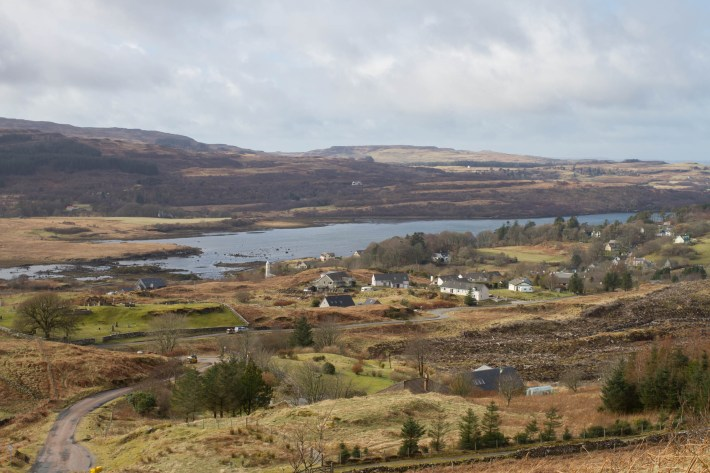 A remote village on the Isle of Mull