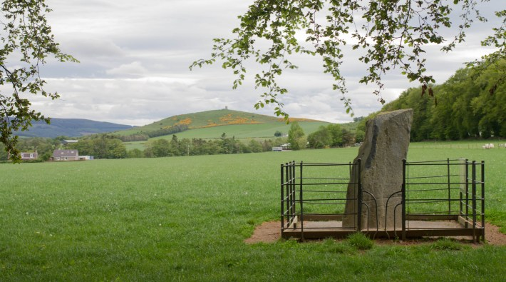 Picardy Stone, Pictish Stone. Aberdeenshire