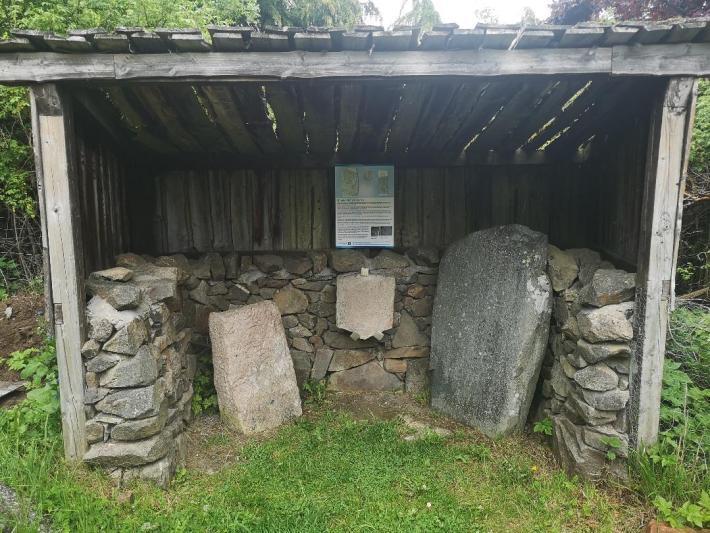 Rhynie Stones. Pictish Stones in Aberdeenshire