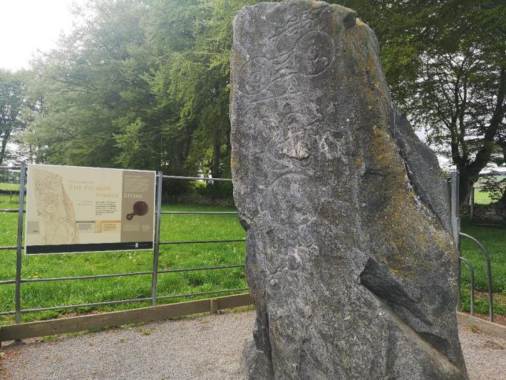 Picardy Stone. A Pictish Stone in Aberdeenshire