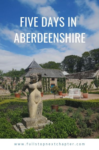 Pinterest graphic - Five days in Aberdeenshire