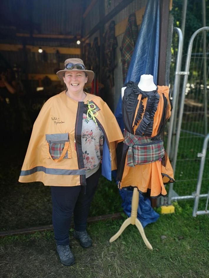 Naked Highlander at Belladrum Festival