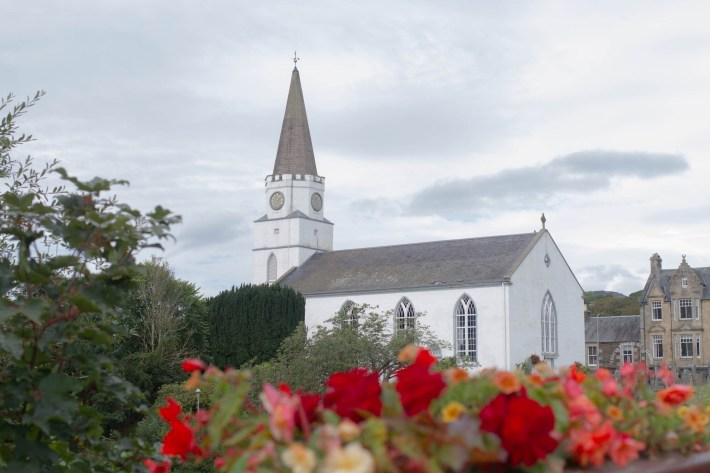 Comrie church, Perthshire