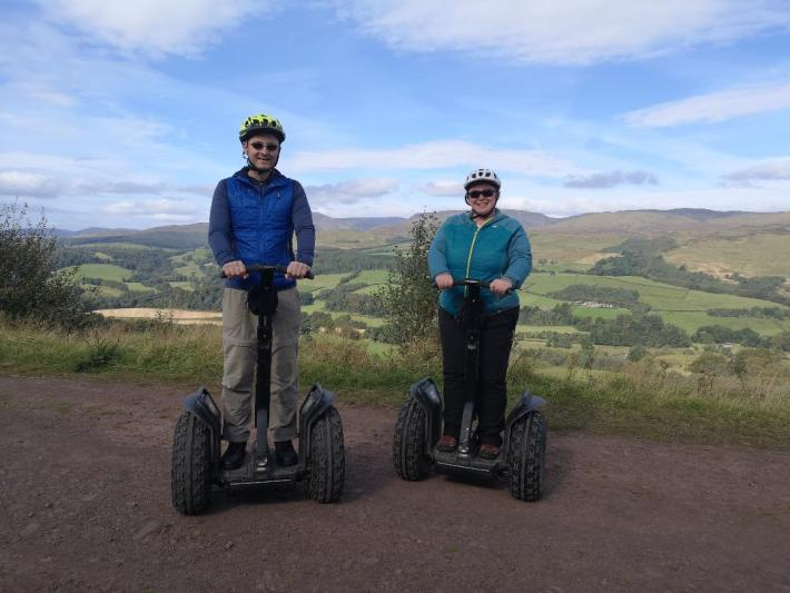 Action Glen Segway experience, Perthshire