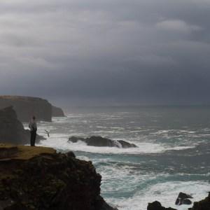 Esha Ness cliffs, Shetland.
