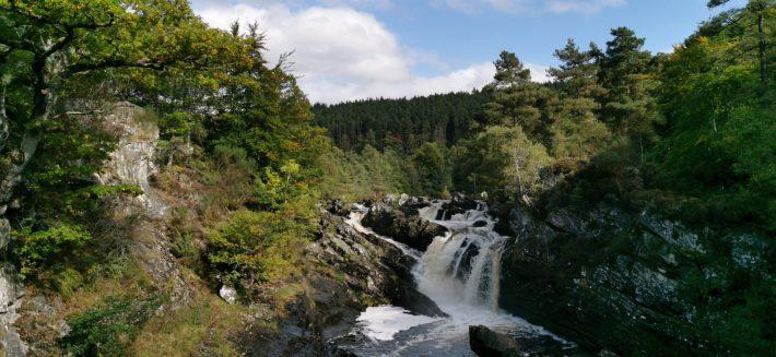 Image of: Rogie Falls