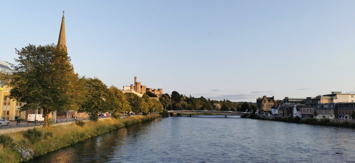 Image of: Inverness. River Ness