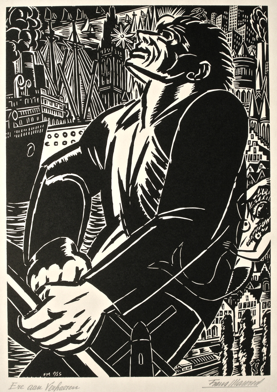 Frans Masereel  a selection of signed prints from the Michael TRicker Collection