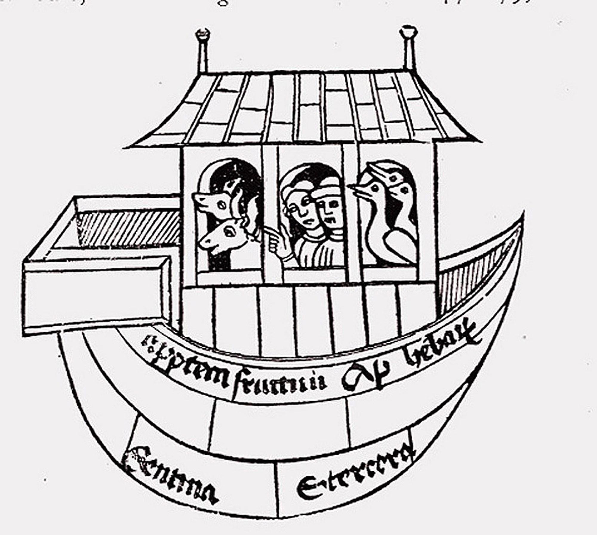 hight resolution of noah ark diagram