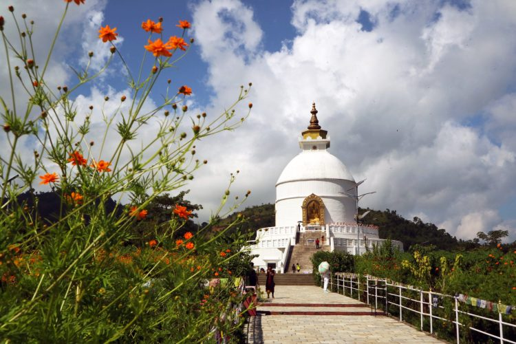 Things to do in Pokhara Nepal World Peace Pagoda Hike