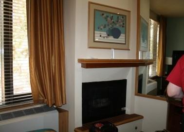 Fireplace in Tahoe Seasons