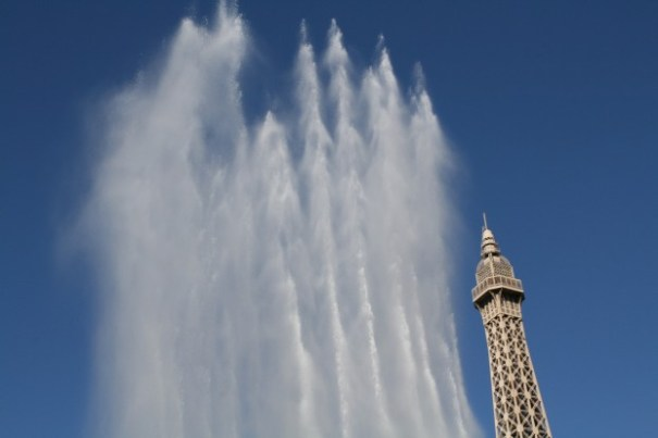 Sound and motion are the art of the Belliago fountains.  The still camera will never do justice to the show.
