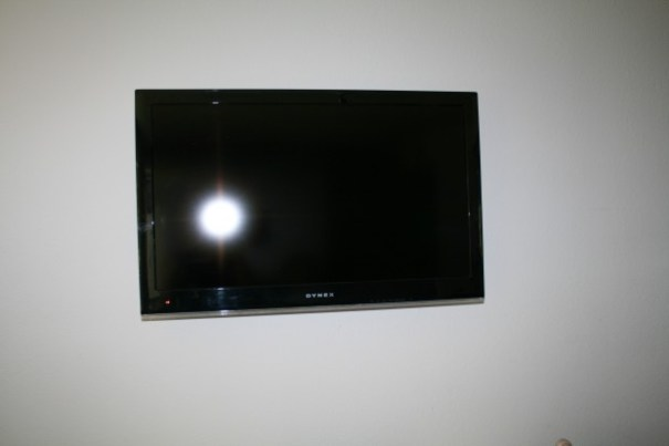 Flat screen for living room.