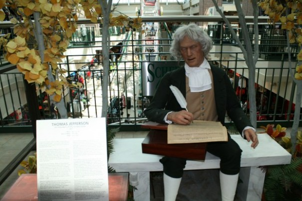 Jefferson, this man was a revolutionary, just read some of his works!  He'd be arrested today.