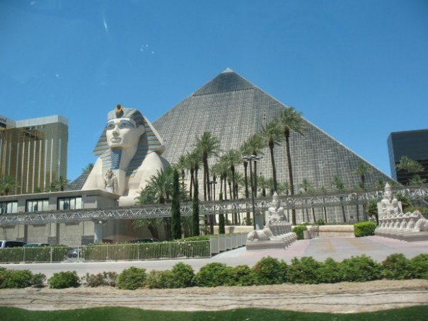 The Luxor.  Interesting place.