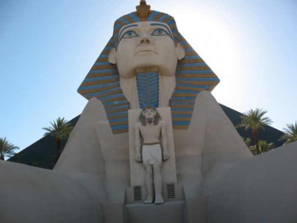 "The allure of ""Egyptian anything, the Luxor."