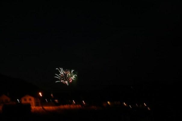 Fireworks, Virginia City, Nv